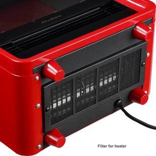 PuraFlame 12-inch Octavia 1500W Portable Electric Fireplace Heater