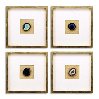 Empire Art - Rose, Smoke, Blue, Cosmo Geodes