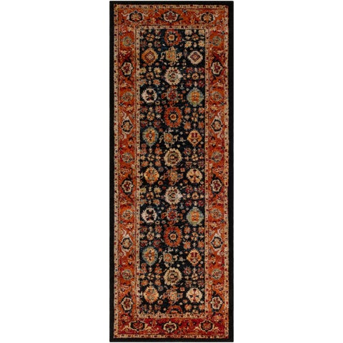 "Copper Grove Pembina Traditional Runner Rug - 2'7"" x 7'3"" Runner"