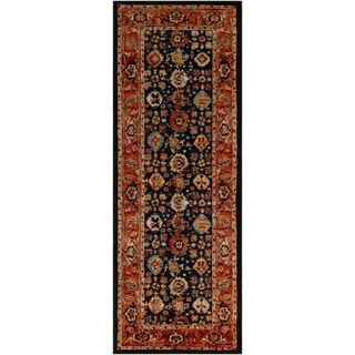 "Machine Woven Marello Polypropylene Rug (2'7"" x 7'3"")"