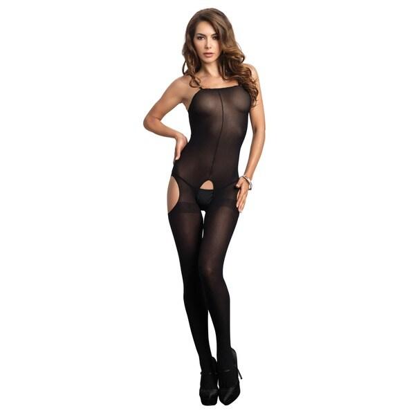 Leg Avenue Opaque Suspender Bodystocking