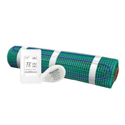 WarmlyYours 72 sq. ft. 120 Volts Electric Floor Heating Roll Kit with Touch Screen Thermostat