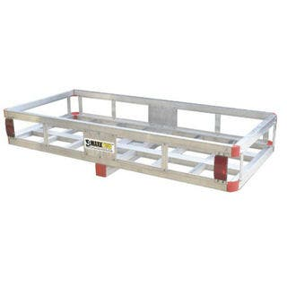 MaxxHaul 70108 Aluminum 500-pound Load Capacity Hitch-mount Cargo Carrier with High Side Rails for 2-inch Hitch Receiver https://ak1.ostkcdn.com/images/products/13953356/P20582845.jpg?impolicy=medium