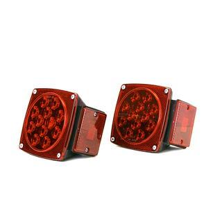 MaxxHaul Red LED Trailer Tail Lights