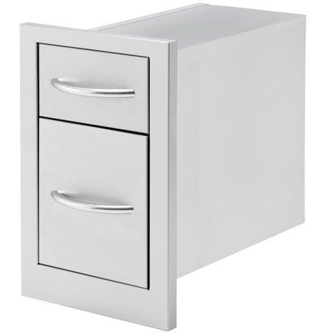 2 Deep Drawer Storage