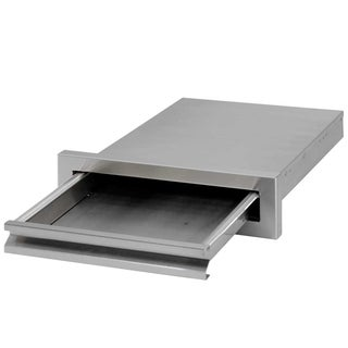 Cal Flame Grill Griddle Tray With Storage