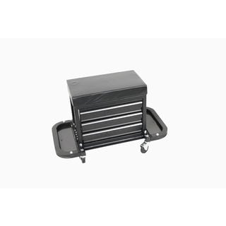 MaxWorks MW-0206 3-Drawer Rolling Tool Chest Seat