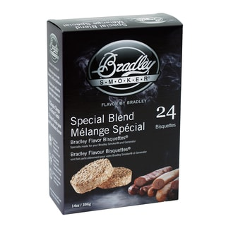 Bradley Smoker Bradley Flavor Special Blend Wood Bisquettes (Case of 24)