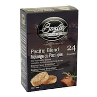 Bradley Flavor Pacific Blend Bisquettes (Case of 24)