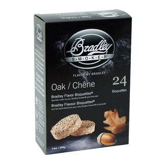 Bradley Smoker Oak Flavor Bisquettes (Case of 24)