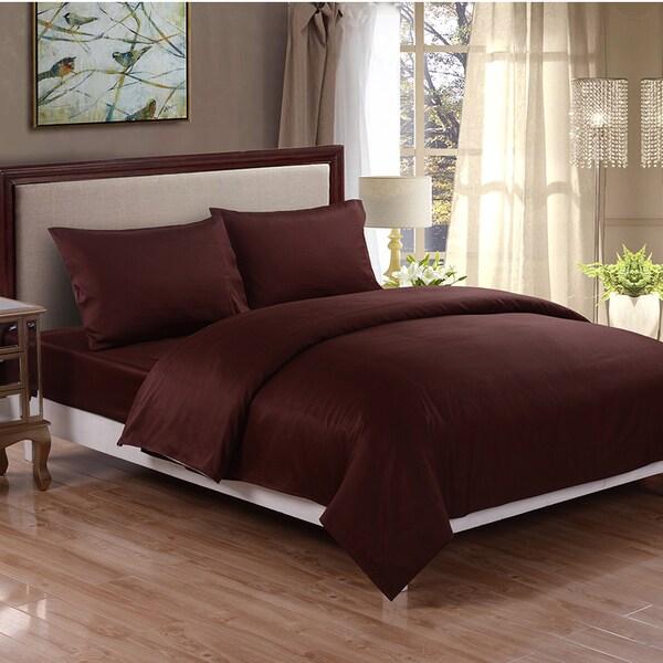 Honeymoon 400 Thread Count Fade-resistant Cotton Sheet Set