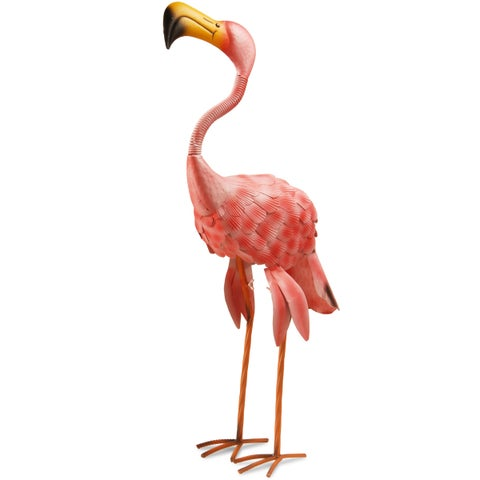 National Tree Company 32-inch Garden Accents Pink Flamingo