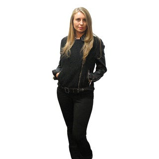 BCBGeneration Faux-leather Moto Jacket S