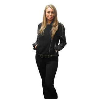 BCBGeneration Faux-leather Moto Jacket S