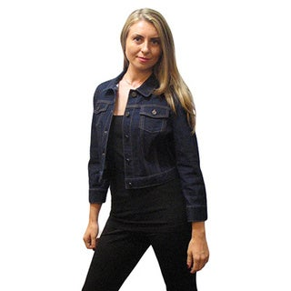 Elie Tahari Women's Blue Denim Jacket