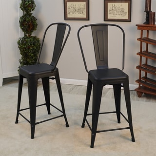 Black Bar Stool 29 Inch Free Shipping Today Overstock