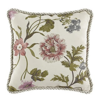 Croscill Daphne 18 x 18-inch Square Pillow