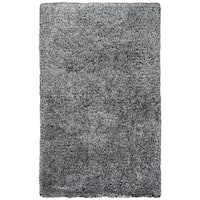 Rizzy Home Commons Black Hand-tufted Area Rug (3'6 x 5'6)