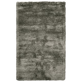 Rizzy Home Commons Oatmeal-colored Polyester Hand-tufted Area Rug (3'6 x 5'6)