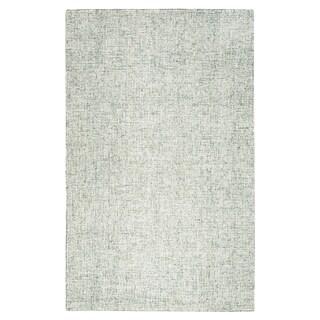 London Green Wool Hand-tufted Rug (3' x 5') - 3' x 5'