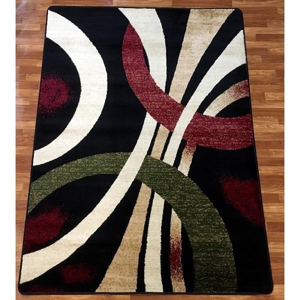 Shop bekmez international wave polypropylene area rug 8 for International home decor rugs