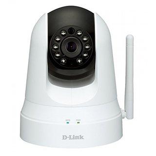 Refurbished White D-Link Pan and Tilt Wi-Fi Camera