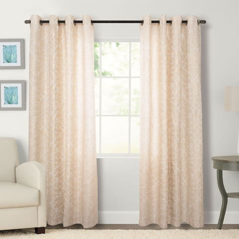 Kailey Grommeted Window Curtain Panel