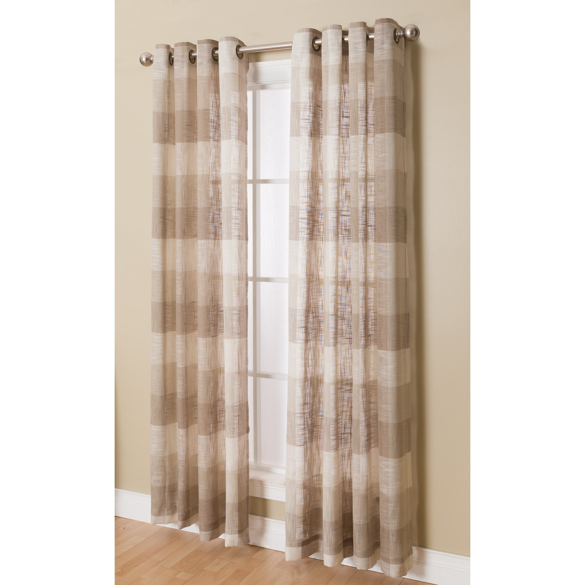 Miller Niles Grommeted Window Curtain Panel (N/A/95 Inche...
