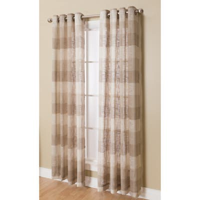 Niles Grommeted Window Curtain Panel