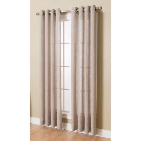 Layton Grommeted Window Curtain Panel