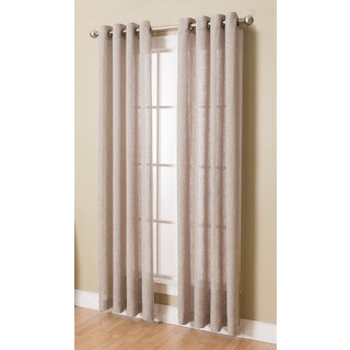 Layton Grommeted Window Curtain Panel