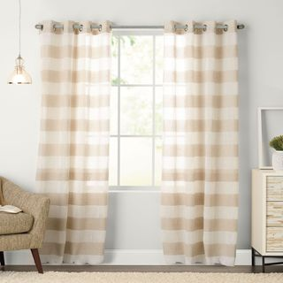 Arlen Grommeted Window Curtain Panel (4 options available)