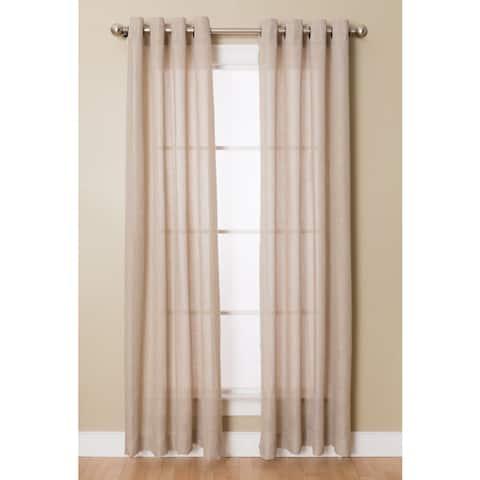 Flynn Grommeted Window Curtain Panel