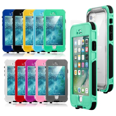 Gearonic Swimming Waterproof Snow Proof Case for Apple iPhone 7