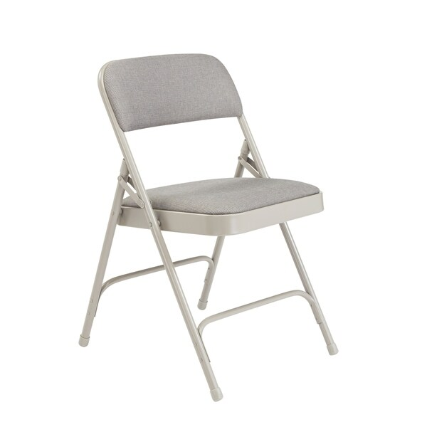 100 Pack Nps Fabric Upholstered Premium Folding Chairs