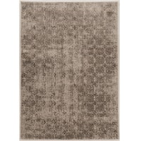 Power Loomed Jewel Collection Vintage Illusion Polypropylene Rug