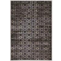 Power Loomed Jewel Collection Vintage Maz3 Polypropylene Rug