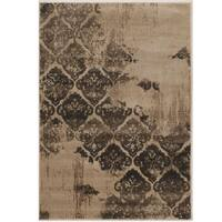 Power Loomed Jewel Collection Vintage B Clara Polypropylene Rug