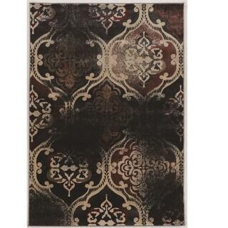 "Power Loomed Jewel Collection Vintage K Arthur RT Beige Polypropylene Rug (8' X 10'4"")"