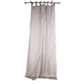 Sagebrook Home Lavender Linen Window Curtain Panel