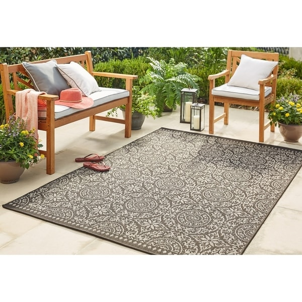 Shop Mohawk Home Oasis Bundoran Indoor Outdoor Area Rug 9