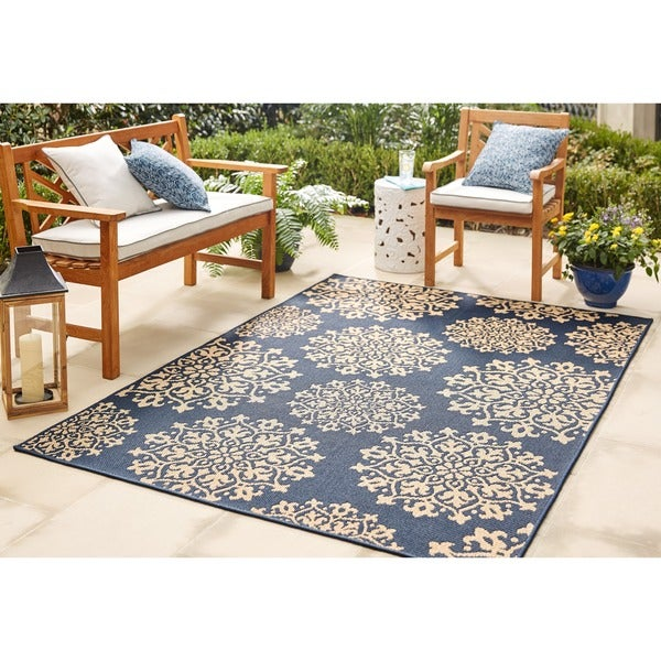 Shop Mohawk Oasis Sanibel Indoor Outdoor Area Rug 9 X 12 On