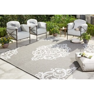 "Mohawk Home Oasis Paloma Indoor/Outdoor Area Rug - 10' 6""x14'"