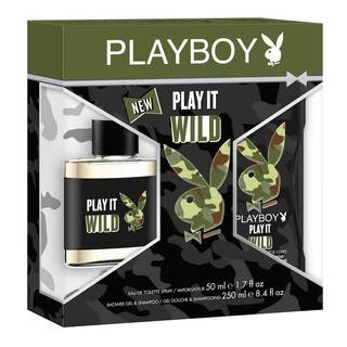 Coty Playboy Play it Wild Men's 2-piece Gift Set
