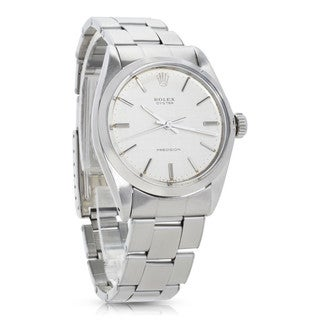 Pre-Owned Rolex Oyster Precision 6426 Mens Watch in Stainless Steel