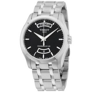 Tissot Powermatic Men's Stainless Steel Black Dial Watch