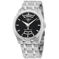 Tissot Powermatic Men's Stainless Steel Black Dial Watch