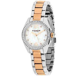 Coach Women's Tristen 14502105 Watch|https://ak1.ostkcdn.com/images/products/13958223/P20587189.jpg?impolicy=medium