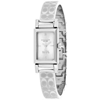 Coach Women's Signiture 14502121 Watch|https://ak1.ostkcdn.com/images/products/13958224/P20587190.jpg?impolicy=medium