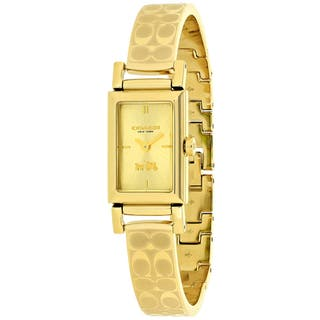 Coach Women's Signiture 14502122 Watch|https://ak1.ostkcdn.com/images/products/13958226/P20587191.jpg?impolicy=medium